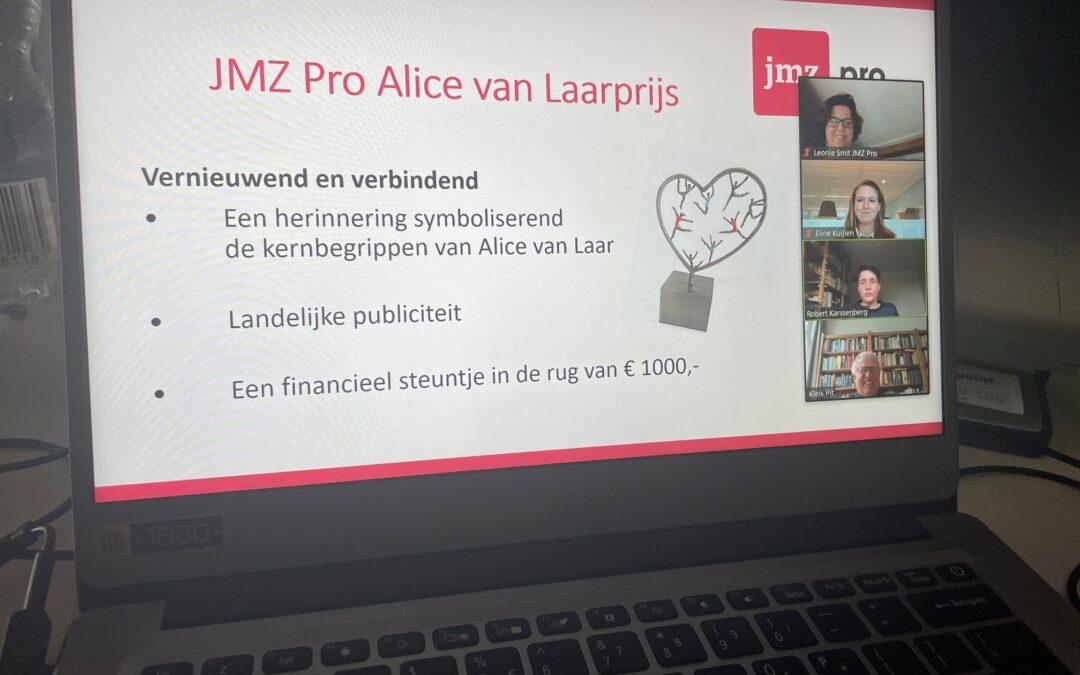 Flash!-JMZ wint Alice van Laarprijs
